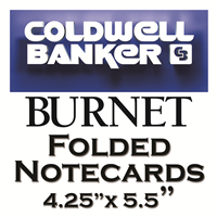 Coldwell Banker Burnet Note Card Templates