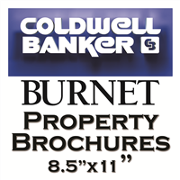 Coldwell Banker Burnet Property Brochure Templates