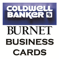 Coldwell Banker Burnet Business Cards