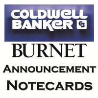 Coldwell Banker Burnet Announcement Cards
