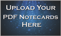 Note Cards - Upload Your File